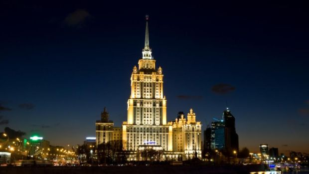 Seven Sisters: the Ukraina Hotel, now the Radisson Royal. Photograph: iStock/Getty