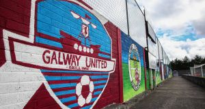 Galway United are in talks with an overseas investor about a possible takeover of the club or sale of a major stake. Photo: Inpho