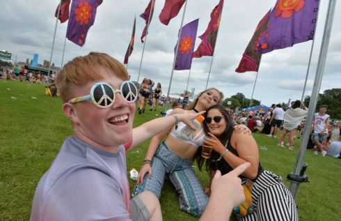 Jack Pierce, Sophie Keane and Clodagh Quirke from Wexford and Tipperary. Photograph: Alan Betson / The Irish Times