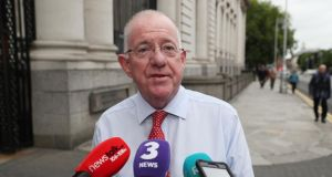 "Charlie Flanagan: ""If Paul Murphy believes he has a legitimate avenue of complaint, the option is available to him to contact the Garda Síochána Ombudsman Commission. He has not done that."" Photograph: Brian Lawless/PA Wire"