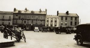 The Royal Hotel in Eyre Square, Galway, circa 1936. Photograph: Kennys Bookshop Galway
