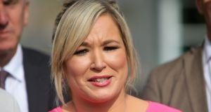 "Sinn Féin Northern Ireland Leader Michelle O'Neill has said: ""Sinn Féin remain fully committed to making the negotiations work, and in getting the executive back up and running and delivering for all in society."" File photograph: Paul McErlane/EPA"