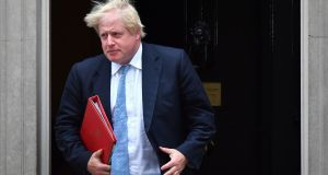 Britain's foreign secretary Boris Johnson Foreign secretary Boris Johnson will call for new measures against senior military officers. Photograph: Ben Stansall/AFP/Getty