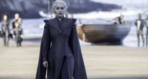 Daenerys sets out to to reclaim her gloomy ancestral home, Dragonstone
