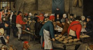 'The Wedding Feast' by Pieter Brueghel the Younger