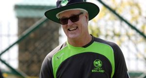 Head coach John Bracewell is to leave Cricket Ireland at the end of his contract in December. Photograph: Barry Chambers/Inpho
