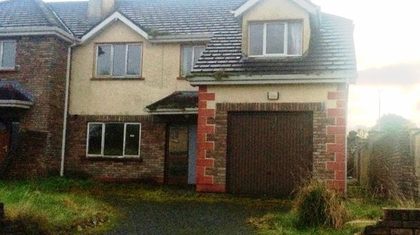Needing total refurbishment, a four-bedroom house at 6 Abbeyfield, Ballaghaderreen is for sale at €37,500