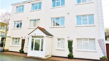 A two-bedroom apartment at Albert Court on Sandycove Road is listed at €299,950