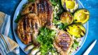 Donal Skehan's brick chicken