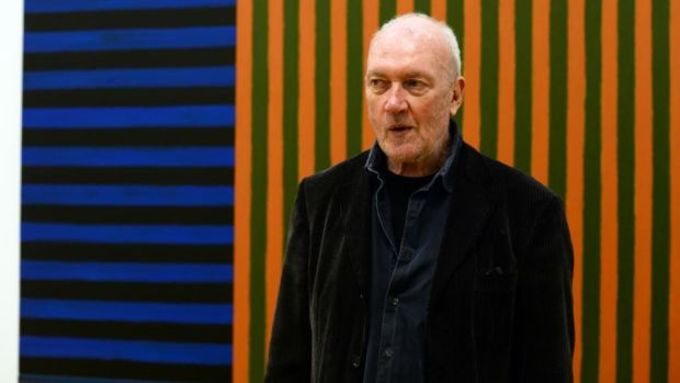 Artist Sean Scully. Photograph: Cyril Byrne / THE IRISH TIMES
