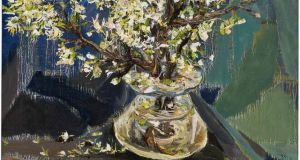 Nick Miller still life with flowers