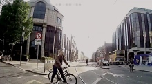 Luas release video of collisions and near misses with cyclists