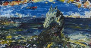 Jack B Yeats, 'From Portacloy to Rathlin O'Beirne', at the Hunt Museum in Limerick