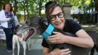 Pauline McLynn among activists to protest export of Irish greyhounds