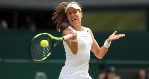 "Johanna Konta: ""I'm a British citizen, and I'm incredibly proud to represent Great Britain."" Photograph: PA Photo"