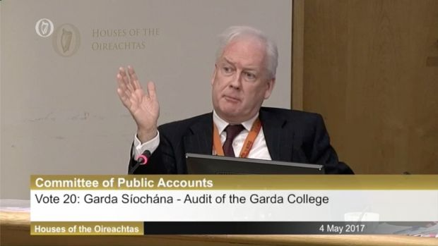 "Garda head of human resources John Barrett: ""The circumstances under which co-operation was not forthcoming is a reality. This was an uphill push."""