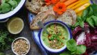 Lilly Higgins' whipped pea dip with quick dukkah