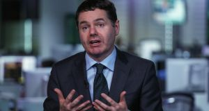 Minister for Finance  Paschal Donohoe says it is critical that dangerous risks are avoided. Photograph: Chris Ratcliffe/Bloomberg