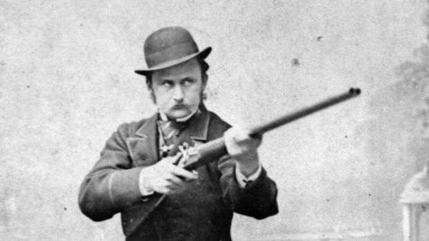 A history of Ireland in 100 words: 16 – Boycott. Capt Charles Boycott, agent for the absentee Mayo landlord Lord Erne during the Land War of 1878-1909. Photograph: Bullock Brothers/Sean Sexton/Getty