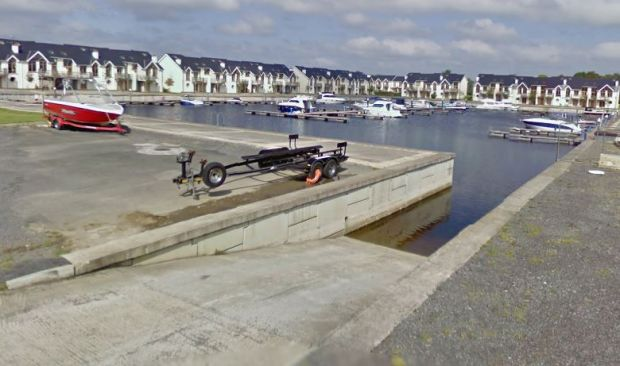 The marina at Tarmonbarry, Co Roscommon. Image: Google Street View