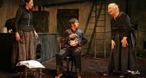 Catherine Walsh, Aaron Monaghan and  Marie Mullen in  a Druid production of  The Playboy of the Western World