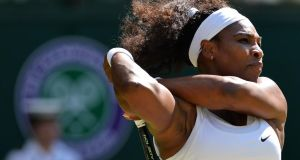 Serena Williams: has she been properly recognised for her amazing tally of 23 Grand Slam wins? Photograph: Glyn Kirk/AFP/Getty Images