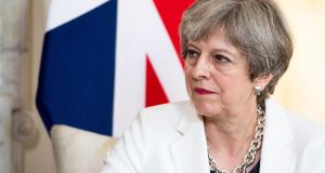 British prime minister Theresa May has expressed support for marriage equality in Northern Ireland. File photograph: Will Oliver/Pool via Bloomberg