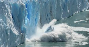 Melting glaciers: a clear sign of global warming. Photograph: iStock/Getty