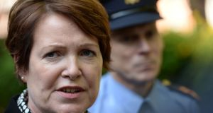 Garda Commissioner Nóirín O'Sullivan will miss next week's meeting of the Policing Authority. File photograph: Dara Mac Dónaill/The Irish Times