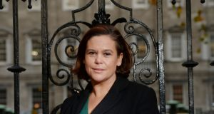 "Mary Lou McDonald: """"Unionism no longer dominates. If it wishes to be in power it will be only on the basis of powersharing and equality"""