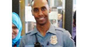 Police officer Mohamed Noor, who   fatally shot Justine Damondafter she called 911 to report what she believed to be an active sexual assault. Photograph: City of Minneapolis via AP