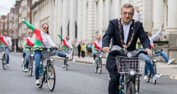 Expanded dublin bikes scheme to grangegorman dit on hold.