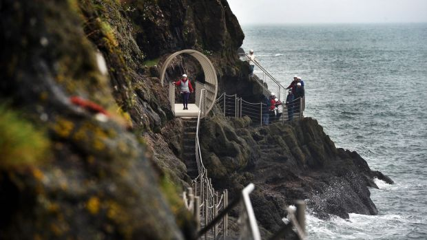 Gobbins cliff path: walking here is an adventure; highlights include the bridges over the North Channel, an eerie tunnel and the caves that were once home to smugglers