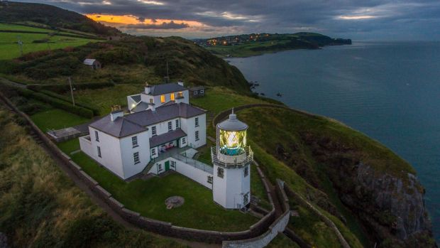 Blackhead Cutter: there are stunning views over Belfast Lough from the lightkeepers' houses