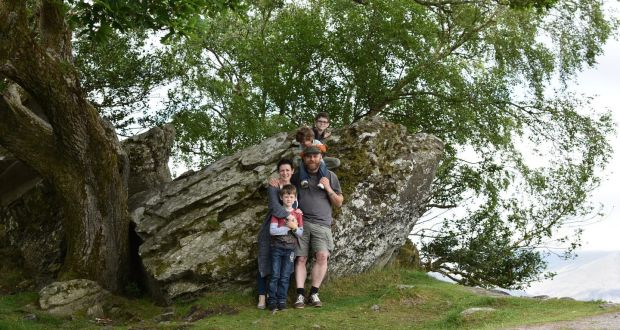 Fionnuala Zinnecker And Family Enjoy The Great Outdoors Of Germany