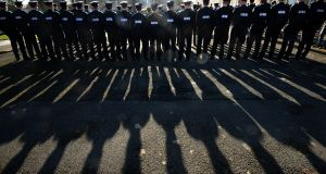 The behaviour of members of An Garda Síochána is in focus at the moment. Trust in policing has been damaged by a number of controversies. Children in the inner city were ahead of the curve on this distrust. Photograph: Dara Mac Dónaill