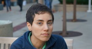Iranian Professor of mathematics Maryam Mirzakhani who was the first woman to receive the prestigious Fields Medal for mathematics. Photograph: EPA