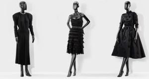 Black dresses from the private collection of Didier Ludot in Paris