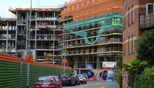 A new student accommodation development under construction on Mill Street, Dublin 8. Photograph: Cyril Byrne