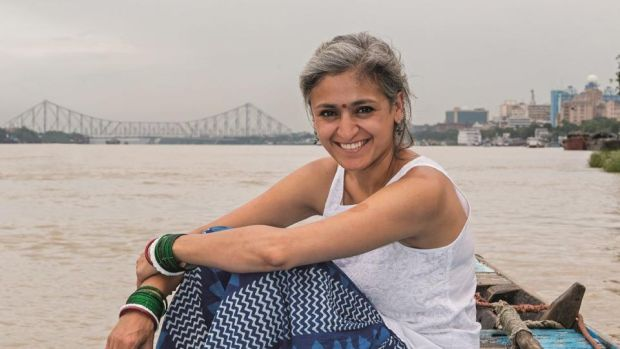 Chetna Makan: in Chai, Chaat & Chutney the Great British Bake Off semi-finalist takes a road trip through India. Photograph: Nassima Rothacker and Keith James