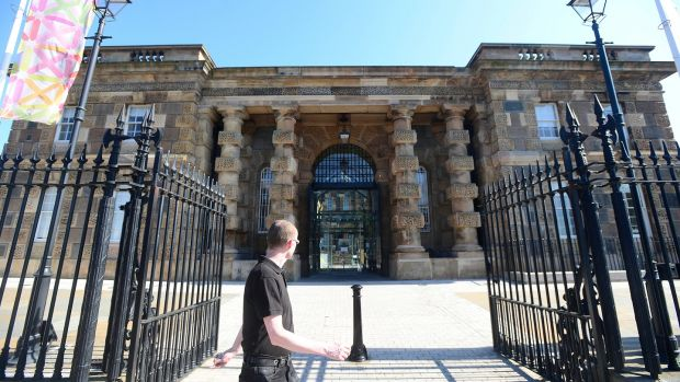 Crumlin Road Gaol in Belfast. Photograph: Arthur Allison/Pacemaker Press