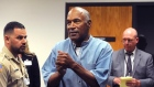 OJ Simpson apologises as he is granted parole from prison