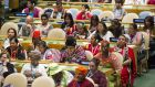 Participants at the opening ceremony of the 15th Session of the United Nations Permanent Forum on Indigenous Issues (UNPFII), being held at UN Headquarters in New York, May 2016. UN Photo/Rick Bajornas