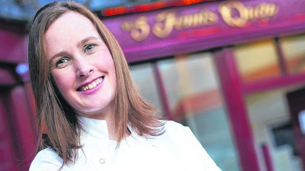 Kate Lawlor, chef patron at Fenn's Quay in Cork, which closed this week