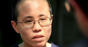 Liu Xia: wife of veteran Chinese pro-democracy activist Liu Xiaobo remains under house arrest. Photograph:  Reuters/David Gray