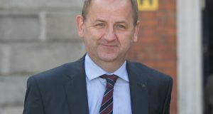 Maurice McCabe at Charleton tribunal. Photograph: Gareth Chaney/Collins