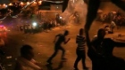 Palestinians clash with Israeli forces outside Jerusalem shrine