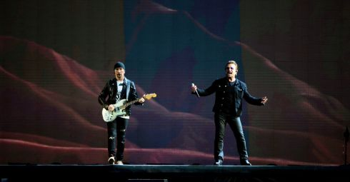 "Bono and the Edge on stage at Croke Park. Read Tony Clayton-Lea&#39;s review of the gig <a href=""https://www.irishtimes.com/culture/music/u2-at-croke-park-a-nostalgic-return-that-just-made-sense-1.3164052"" target=""_blank"">here</a>. Photograph: Cyril Byrne/The Irish Times"