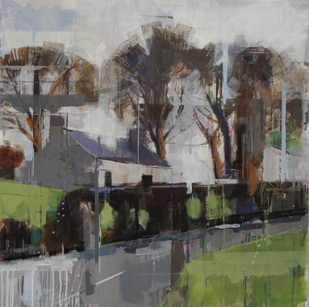 Bridget Flinn, 'Cottage after the Rain', at Solomon Fine Art