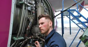 Aaron Fitzpatrick: After school, he signed up to a four-year apprenticeship in aircraft maintenance